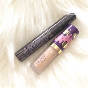 Urban Decay Perversion Mascara and Tarte Concealer